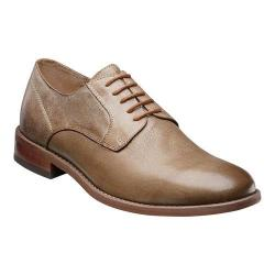 Men's Florsheim Rockit Plain Ox Taupe Distressed Milled Leather