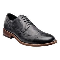 Men's Florsheim Rockit Wing Ox Black Distressed Milled Leather