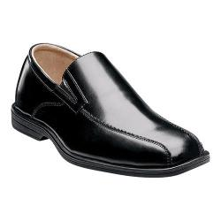 Boys' Florsheim Reveal Bike Slip Jr. Black Smooth Leather