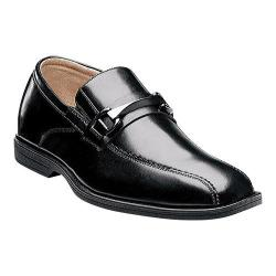 Boys' Florsheim Reveal Bit Jr. Black Smooth Leather