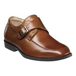 Boys' Florsheim Reveal Monk Jr. Cognac Smooth Leather