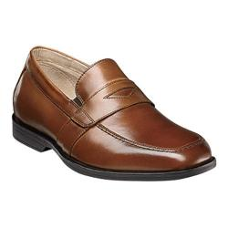 Boys' Florsheim Reveal Penny Jr. Cognac Smooth Leather