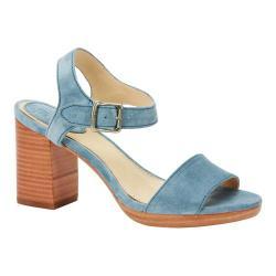 Women's Frye Blake 2 Piece Sandal Blue Suede