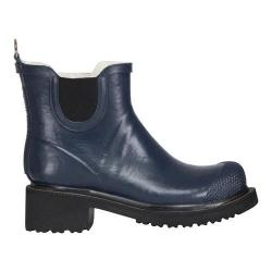 Women's Ilse Jacobsen Short Rubber Boot Dark Indigo