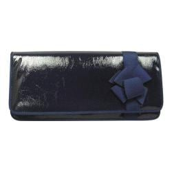 Women's J. Renee CL053 Clutch Navy/Navy Faux Crinkle Patent Leather