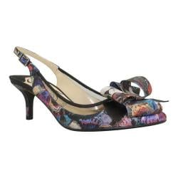 Women's J. Renee Garbi Black Multi Enchanted Butterfly Fabric