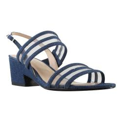 Women's J. Renee Erma Sandal Blue Denim Fabric/Mesh