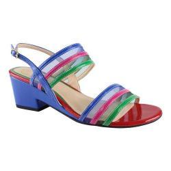 Women's J. Renee Erma Sandal Bright Multi Faux Patent/Mesh