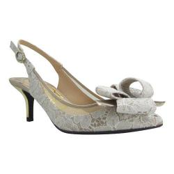 Women's J. Renee Garbi White/Nude Lace/Satin/Mesh