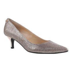 Women's J. Renee Gianna Pump Blush Harlequin Glitter Fabric