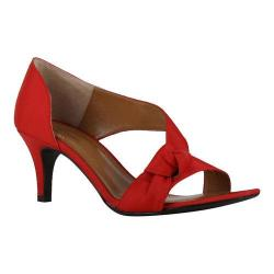 Women's J. Renee Jaynnie D'Orsay Red Crepe Satin
