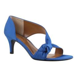 Women's J. Renee Jaynnie D'Orsay Royal Blue Crepe Satin