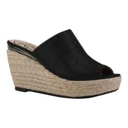 Women's J. Renee Prys Slide Black Harlequin Glitter Fabric