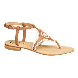 Jack Rogers Womens maci Open Toe Casual Ankle Strap cognacbone Size 85