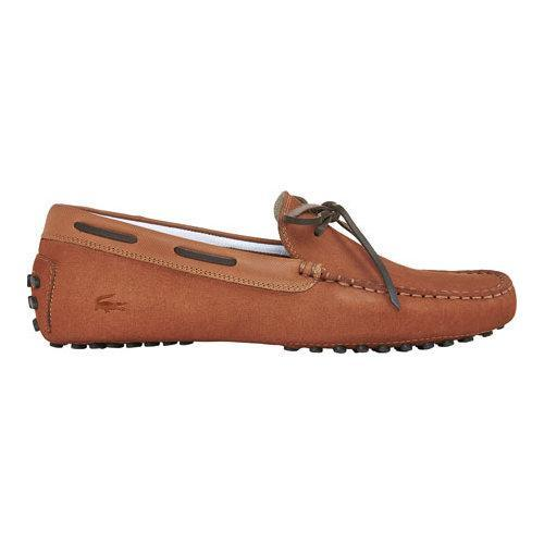 33a44db981a14 Shop Men s Lacoste Concours Lace 116 1 Driving Moc Tan Nubuck - Free  Shipping Today - Overstock - 11943660