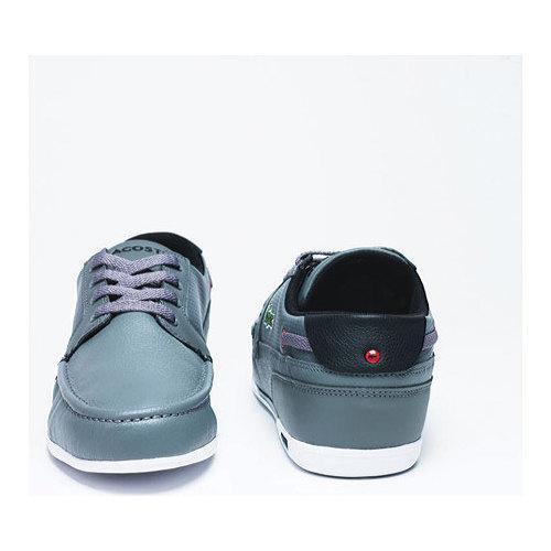 cf71efb938f5 ... Thumbnail Men  x27 s Lacoste Dreyfus QS1 Sneaker Grey Black Leather ...