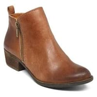 Women's Lucky Brand Basel Bootie Toffee Leather
