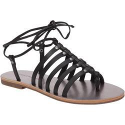 Women's Lucky Brand Colette Gladiator Sandal Black Leather