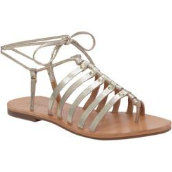 Women's Lucky Brand Colette Gladiator Sandal Gold Metallic Leather