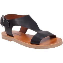 Women's Lucky Brand Devyn Sandal Black Leather
