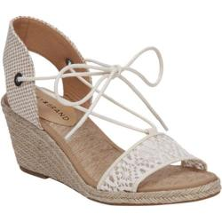 Women's Lucky Brand Kasidee Espadrille Wedge Sandal Natural Textile