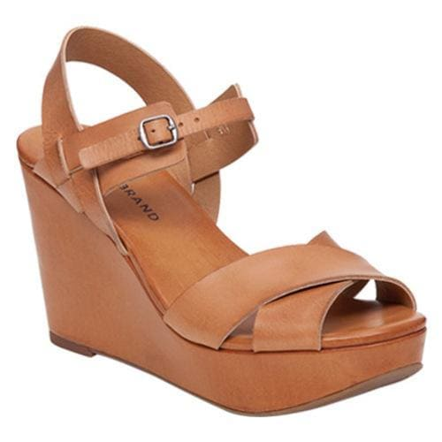 179b2836b8b4 Shop Women s Lucky Brand Modille Platform Wedge Sandal Clay Leather - Free  Shipping Today - Overstock - 11944300