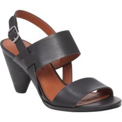 Women's Lucky Brand Veneesha Slingback Black Leather