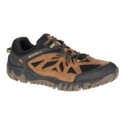 Men's Merrell All Out Blaze Vent Hiking Shoe Merrell Tan|https://ak1.ostkcdn.com/images/products/122/318/P18831889.jpg?impolicy=medium