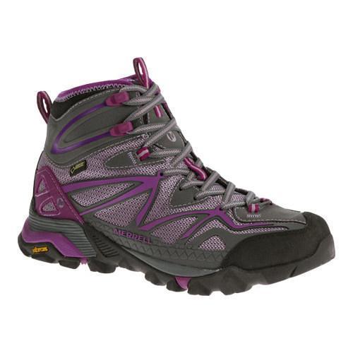 Shop Women s Merrell Capra Sport Mid GORE-TEX Purple - Free Shipping Today  - Overstock - 11944733 160a33138d