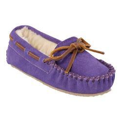 Girls' Minnetonka Cassie Slipper Purple Suede