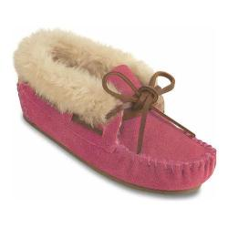 Children's Minnetonka Charley Bootie Hot Pink Suede (More options available)