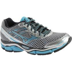 Women's Mizuno Wave Enigma 5 Running Shoe Silver/Blue Atoll