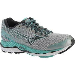 Women's Mizuno Wave Paradox 2 Running Shoe Silver/Dark Shadow