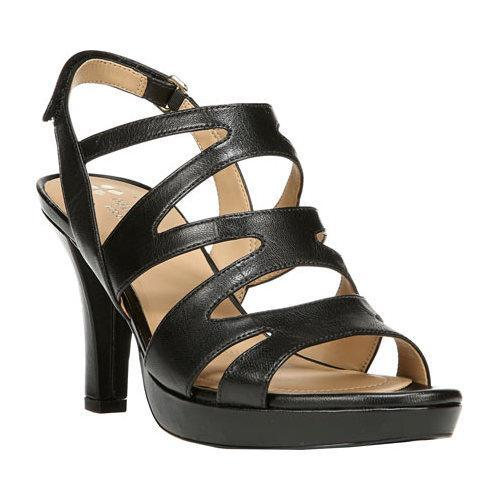 a1953046831 Shop Women s Naturalizer Pressley Sandal Black Talco Kid Leather - On Sale  - Free Shipping Today - Overstock - 11945891
