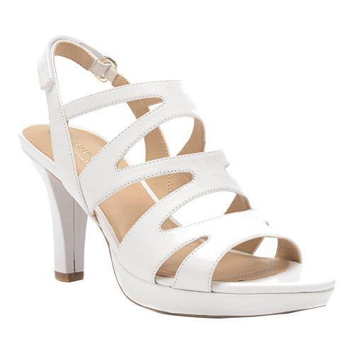 db5faa03105 Shop Women s Naturalizer Pressley Sandal White Talco Kid Leather - Free  Shipping Today - Overstock - 11945893