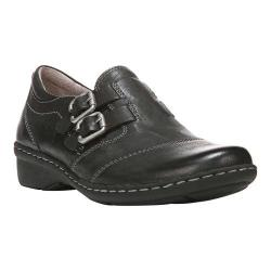 Women's Naturalizer Rapid Buckled Casual Shoe Black Nubia Classic Leather