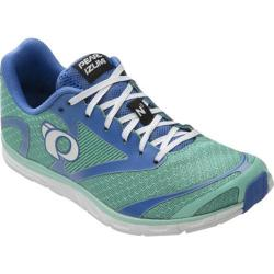 Women's Pearl Izumi E:MOTION Road N0 v2 Running Shoe Aqua Mint/White