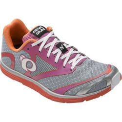 Women's Pearl Izumi E:MOTION Road N0 v2 Running Shoe Silver/Clementine