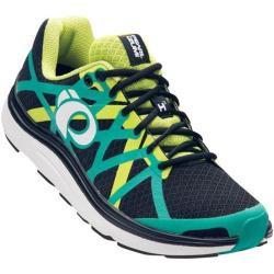 Men's Pearl Izumi EM Road H 3 v2 Running Shoe Black/Dynasty Green