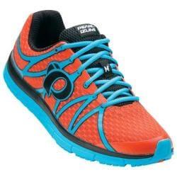 Men's Pearl Izumi EM Road M 2 v2 Running Shoe Spicy Orange/Blue Atoll