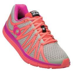 Women's Pearl Izumi EM Road M 2 v2 Running Shoe Paloma/Rose Violet