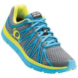 Women's Pearl Izumi EM Road M 2 v2 Running Shoe Shadow Grey/Algiers Blue