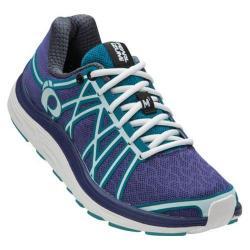 Women's Pearl Izumi EM Road M 3 v2 Running Shoe Deep Wisteria/Algiers Blue