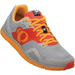 Men's Pearl Izumi EM Road N 0 Running Shoe Mandarin Red/Radiant Yellow
