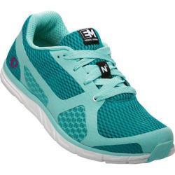 Women's Pearl Izumi EM Road N 0 Running Shoe Aruba Blue/Deep Peacock