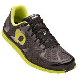 Men's Pearl Izumi EM Road N 0 v2 Running Shoe Shadow Grey/Lime Punch