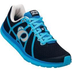 Men's Pearl Izumi EM Road N 1 v2 Running Shoe Black/Blue Atoll