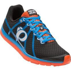 Men's Pearl Izumi EM Road N 1 v2 Running Shoe Black/Fountain Blue