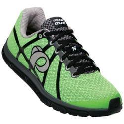 Men's Pearl Izumi EM Road N 1 v2 Running Shoe Green Flash/Black