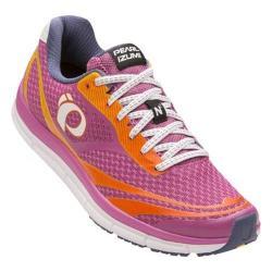Women's Pearl Izumi EM Road N 2 v3 Running Shoe Ibis Rose/White